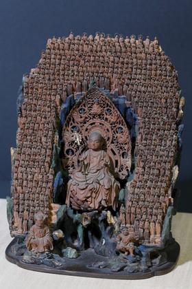 厨子入千躰地蔵菩薩像